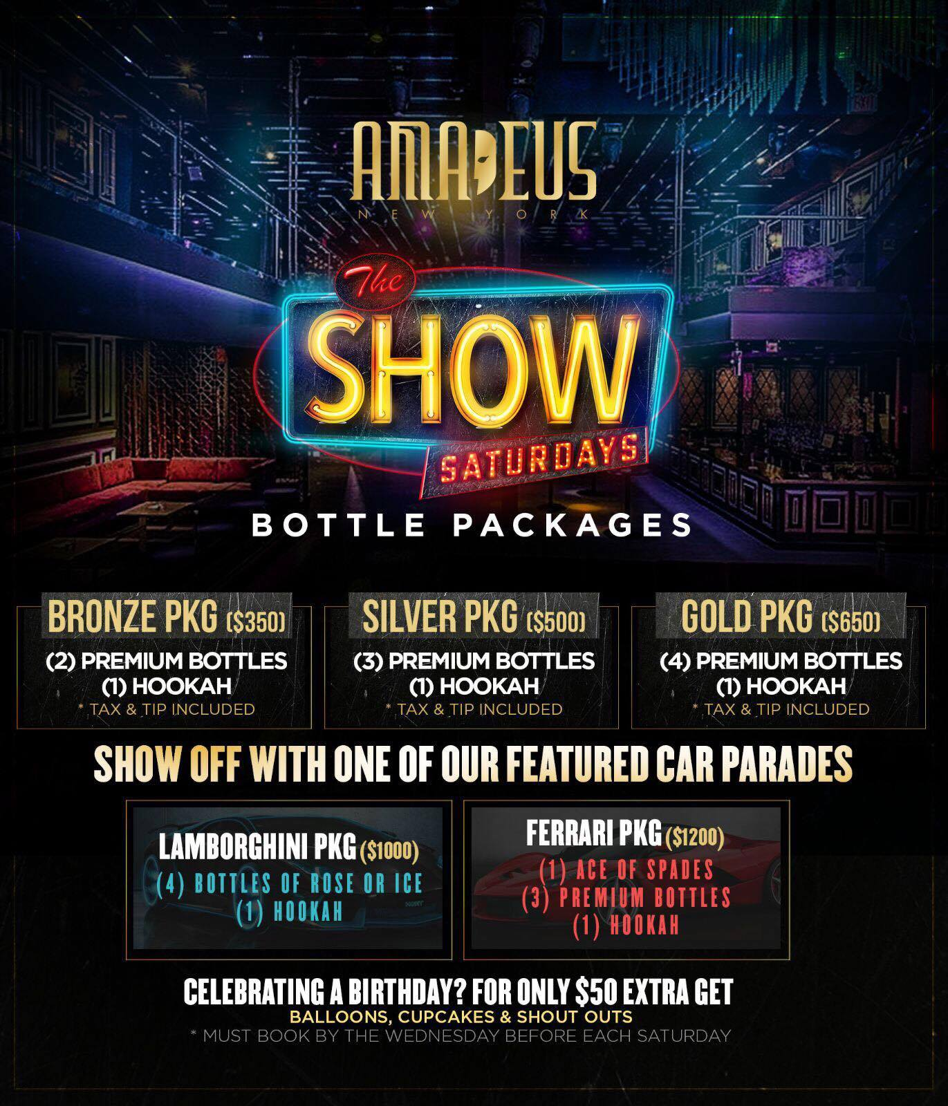club amadeus packages
