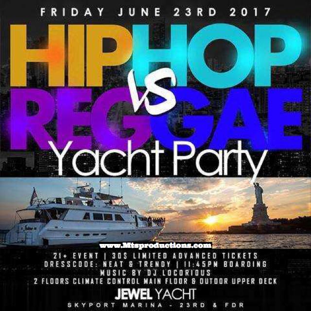 jewel yacht party