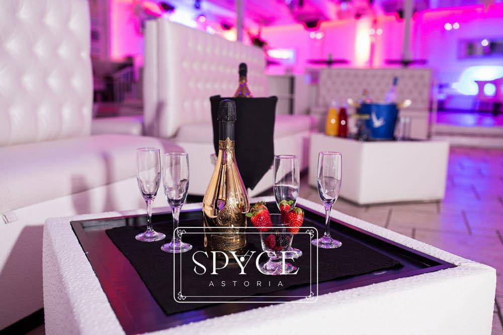 Spyce Astoria bottle service