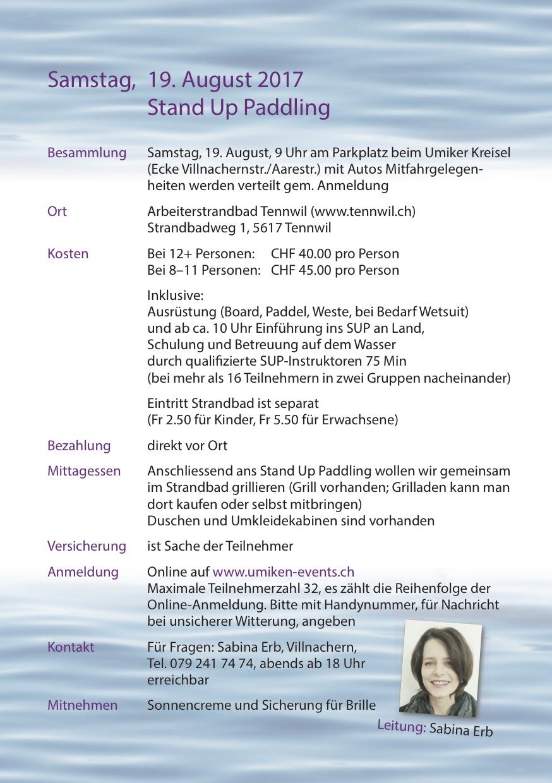 sup Flyer für Frauen, S2