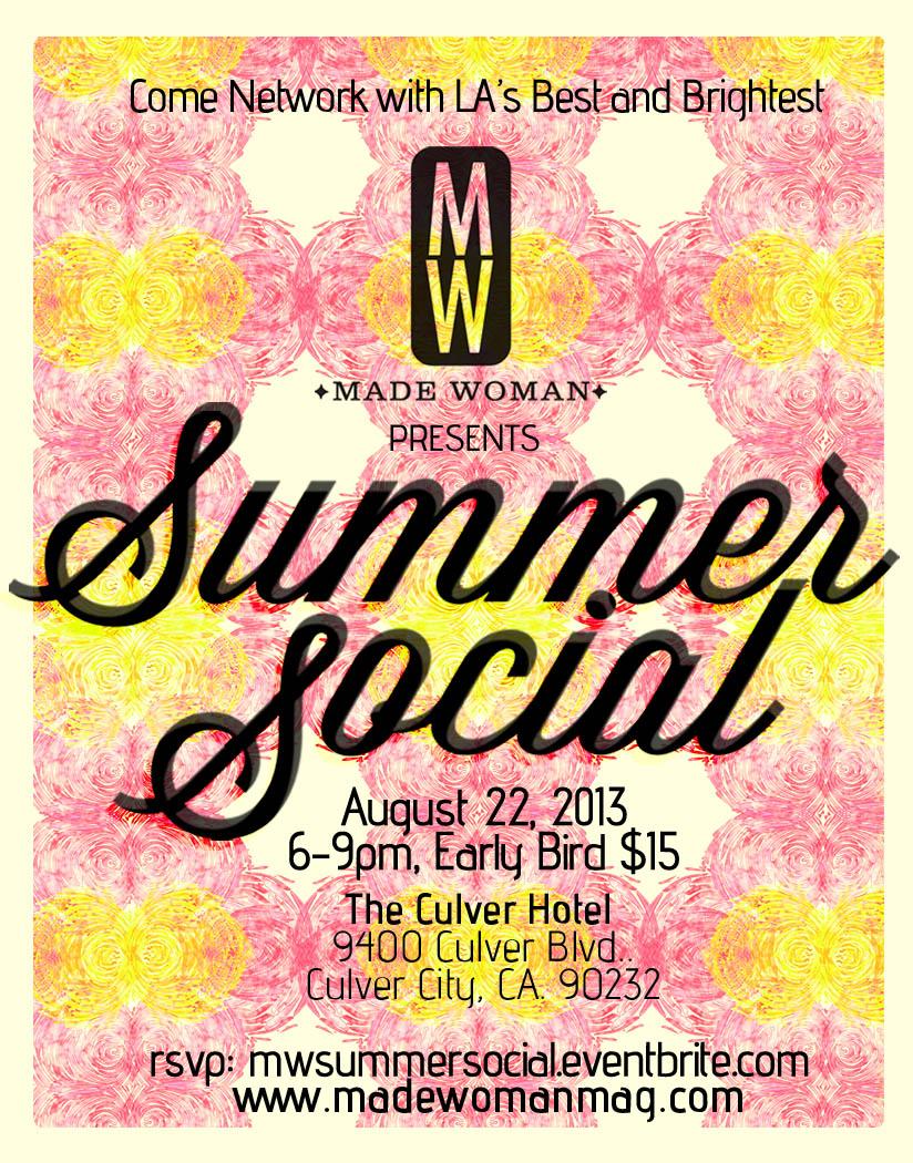 Made Woman Magazine Summer Social