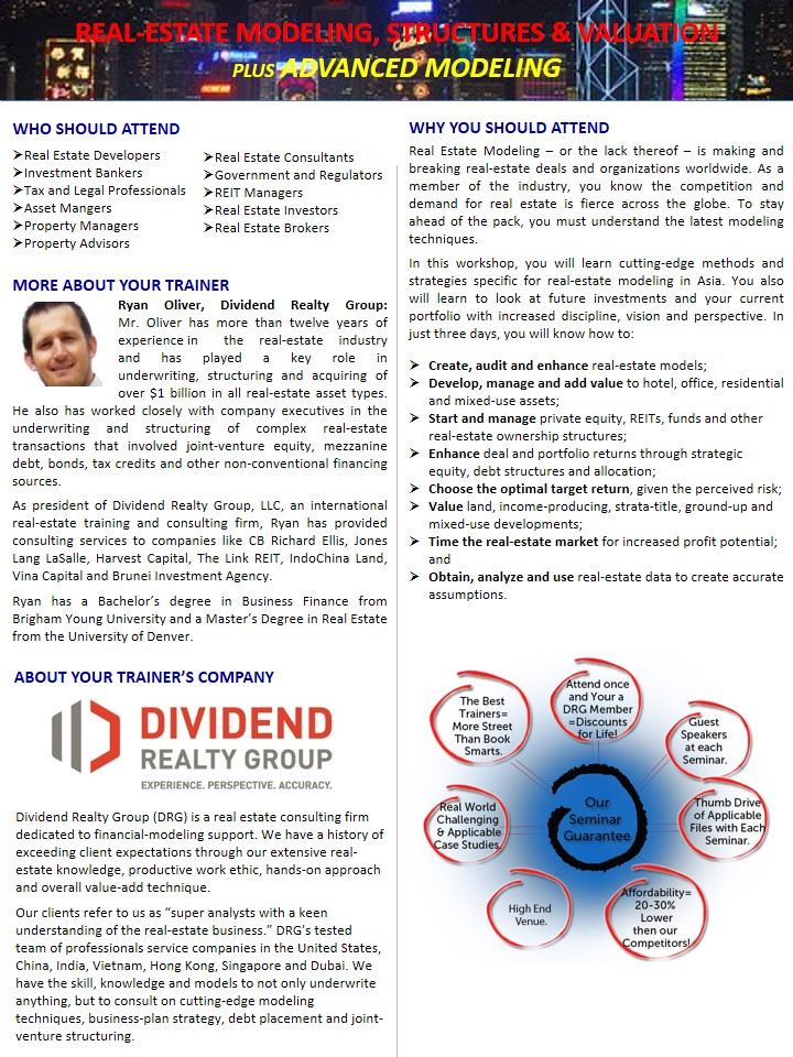 Financial Modeling Seminar - Page 2 of 4