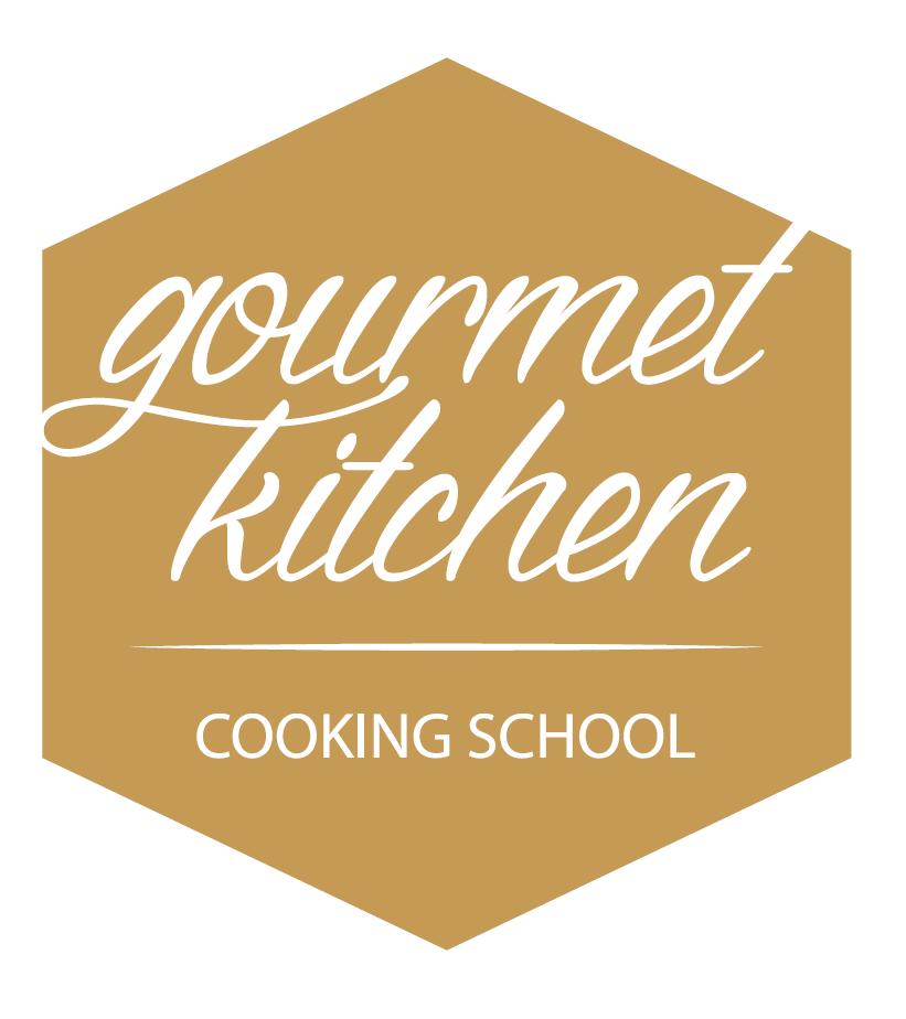 Gourmet Kitchen Cooking School Logo