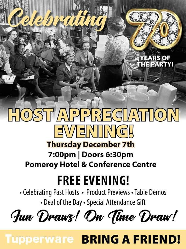 GP Host Appreciation Invite