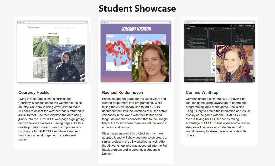 JS Student Showcase