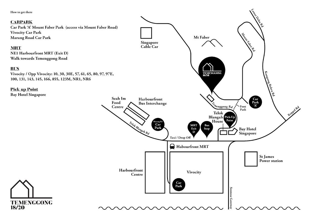 Temenggong 18/20 parking locations