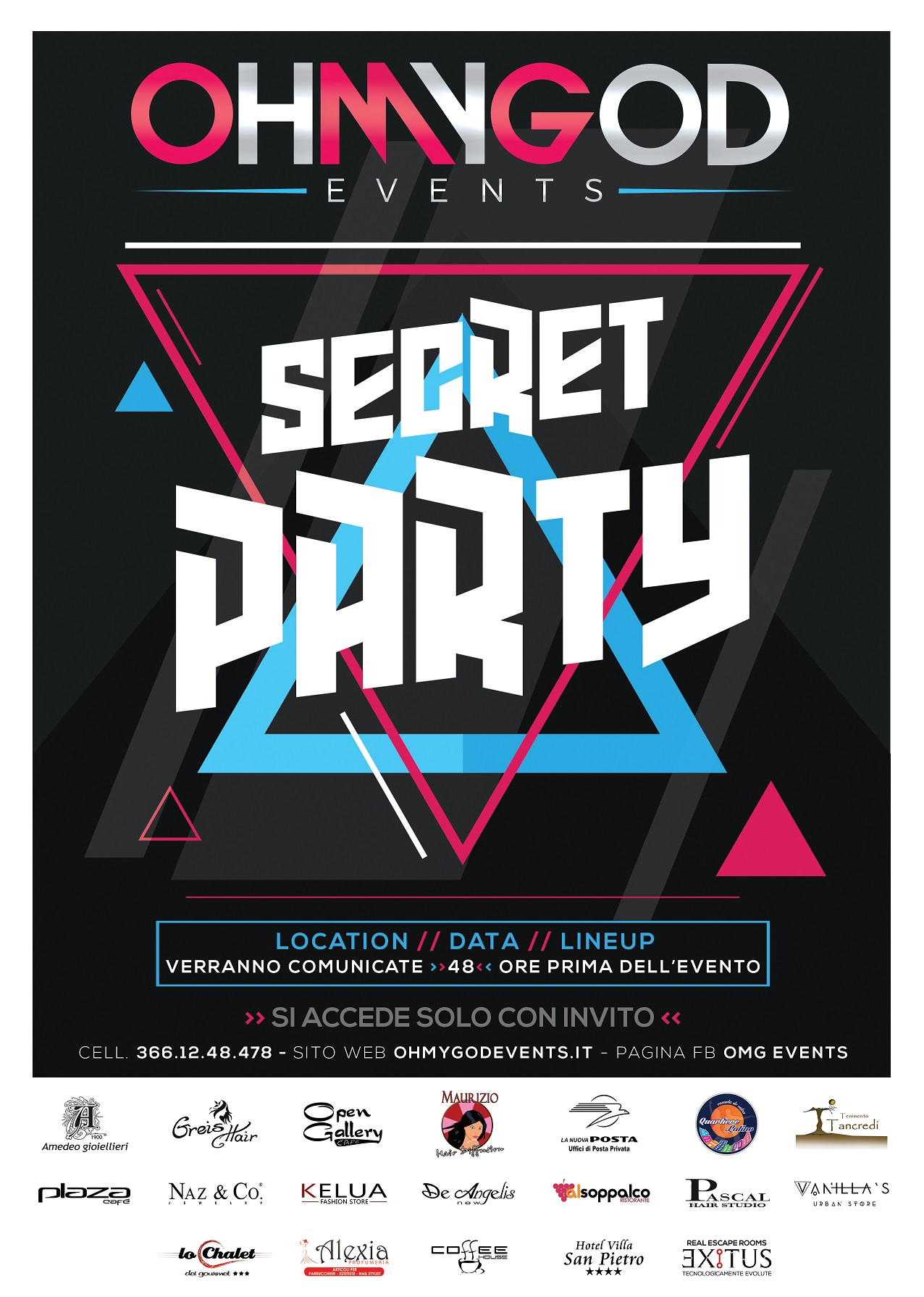 Flyer Secret Party