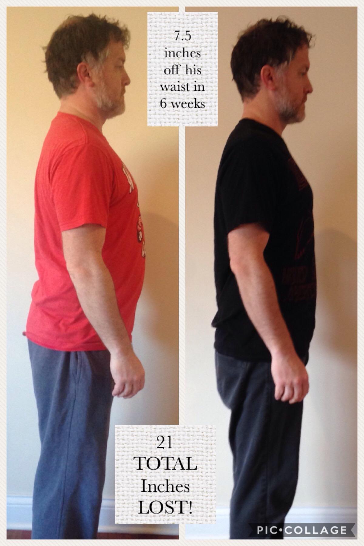 dr mike lost 31 pounds