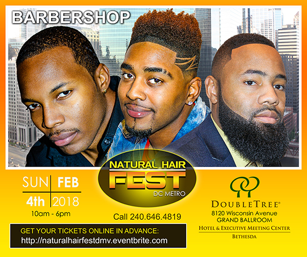 Natural Hair Fest Is Looking For A Few Good Barbers!
