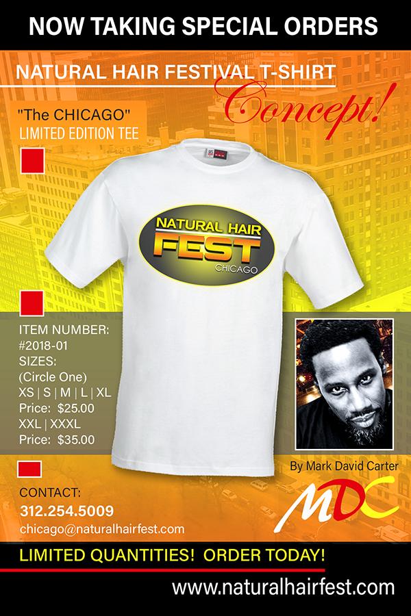 Natural Hair Fest Chicago T-Shirt Concept