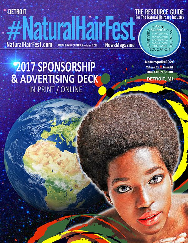 #NaturalHairFest DETROIT NewsMag Sponsorship/Advertising Deck Cover