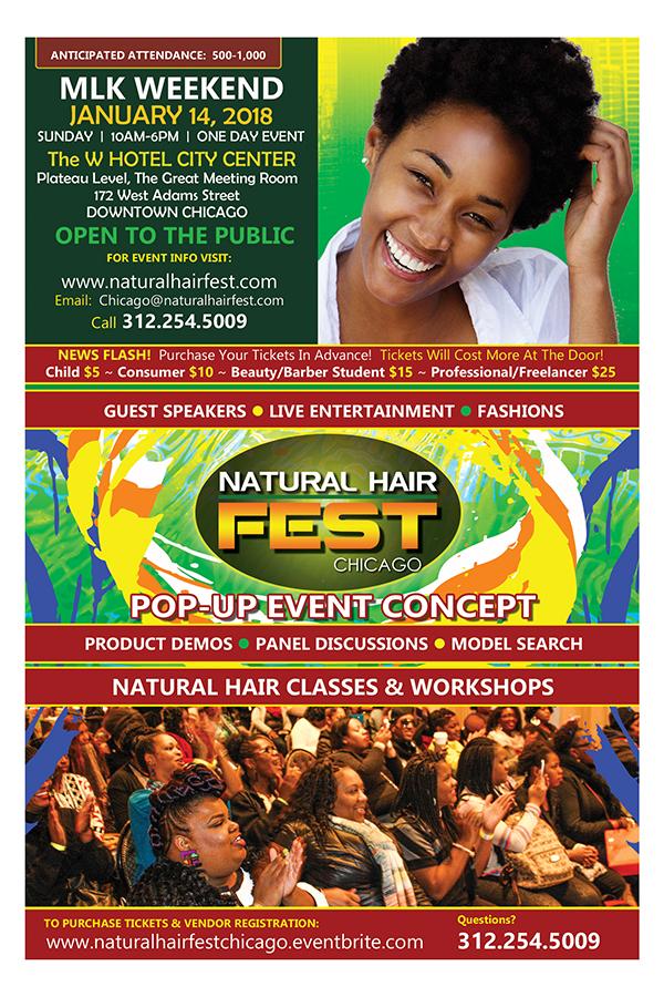Natural Hair Fest Chicago Flyer 1