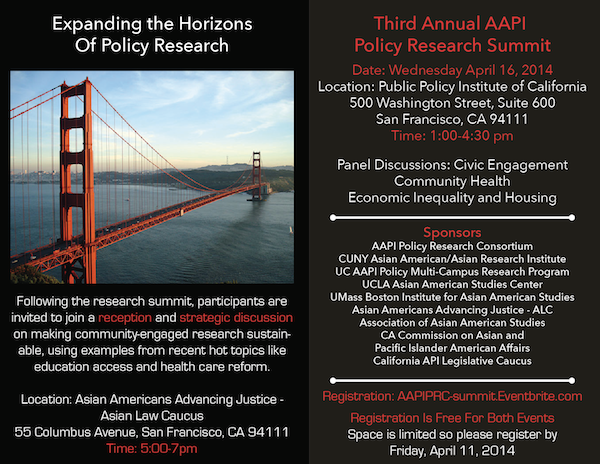 AAPI Policy Summit April 16