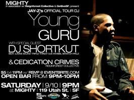 Young Guru (Jay-Z's Official Tour DJ) & DJ Shortkut
