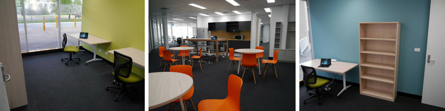 A sneak preview of the quality fitout at 2degrees Renewables Innovation Hub.