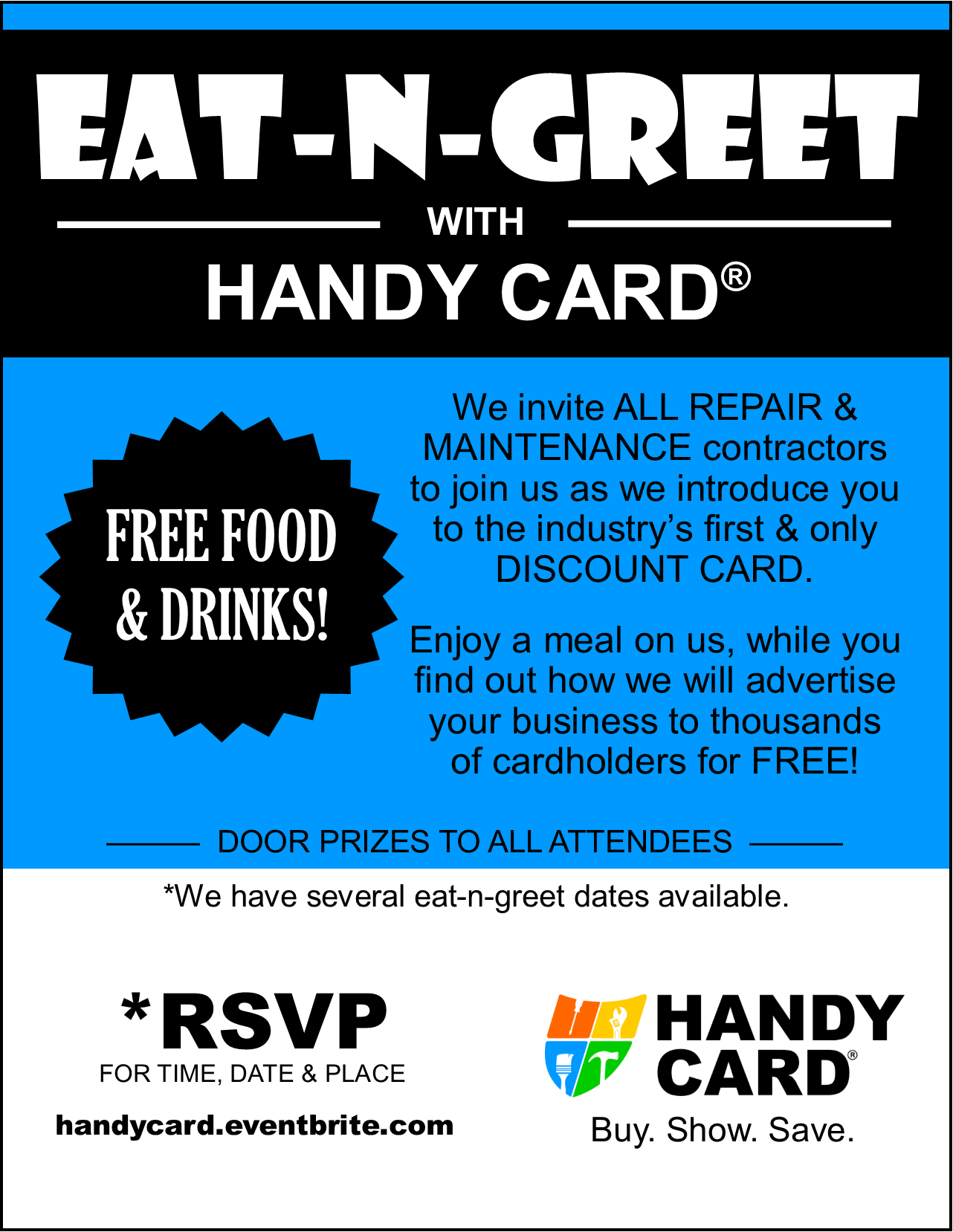 Eat-N-Greet Flyer