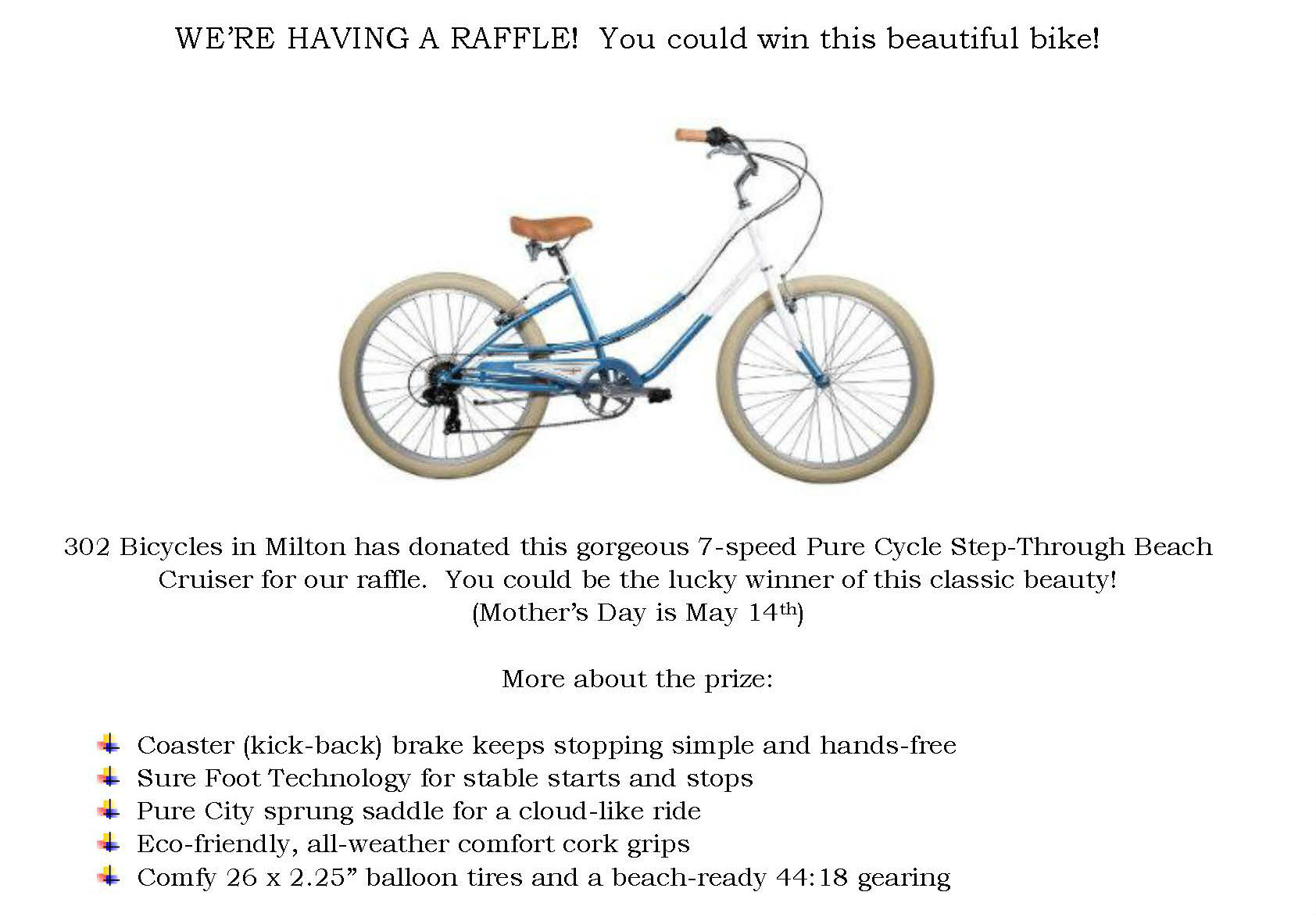 Bike raffle description