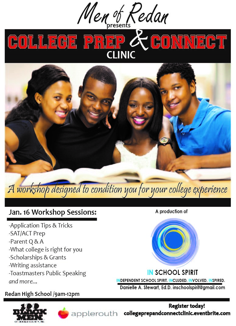 College Prep and Connect Clinic final flyer