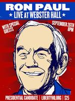 Ron Paul @ Webster Hall NYC 9/26/2011