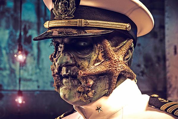 The Captain during Dark Harbor