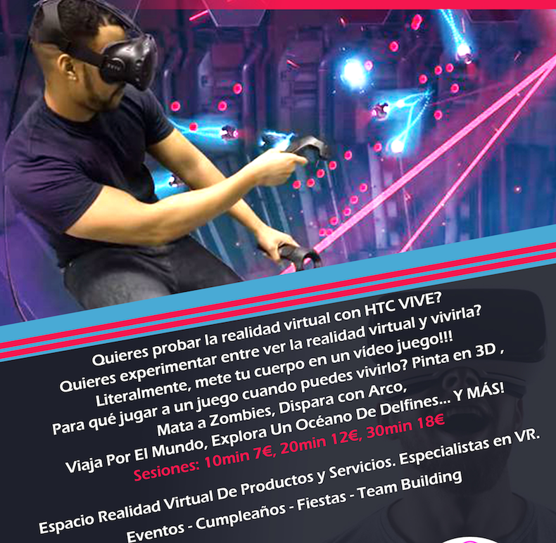 Vive Virtual Experiencia Inolvidable En Realidad Virtual HTC VIVE