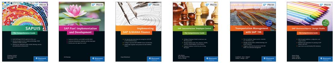 SAP Press books