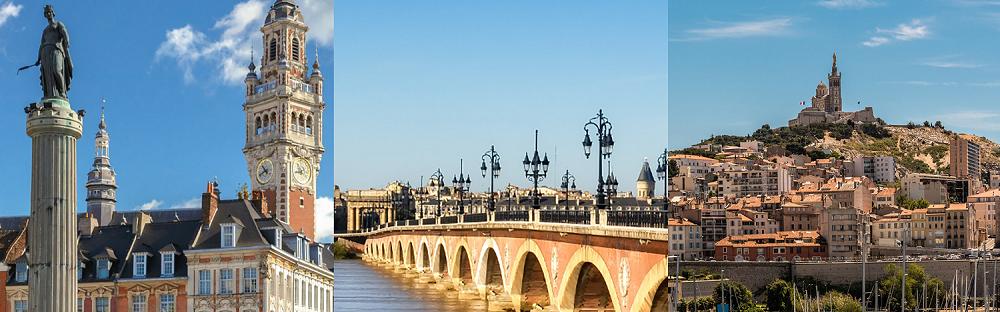 Les 3 villes du Tour de France DocuSign