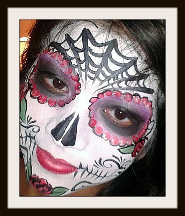 Catrina Face Painting