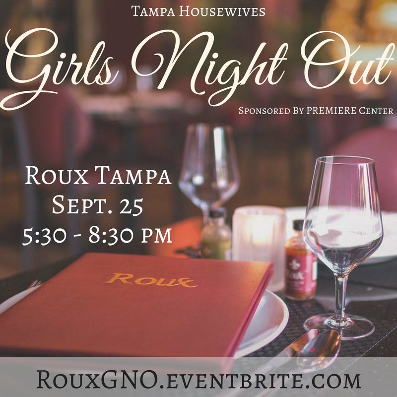Girls Night Out at Roux Sept 25