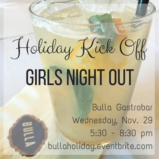 Bulla Holiday Kickoff 11/29