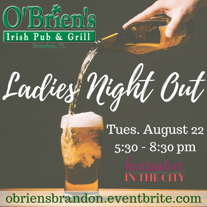 Tampa Housewives O'Brien's Girls Night Out