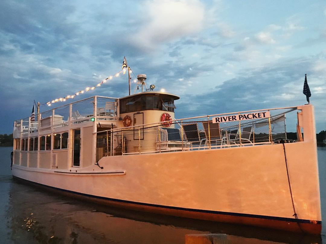 Chester River Packet at sunset