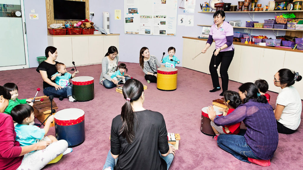 Drum Play at Our Music Studio