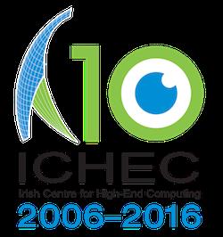 ICHEC 10th Anniversary Logo