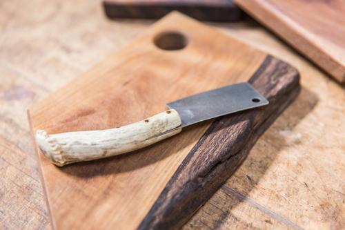wood slab cutting board