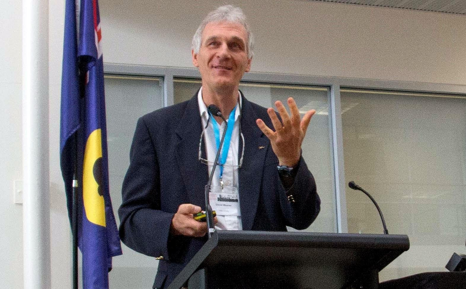 Professor David Weaver Photo