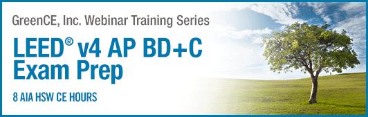 LEED AP BD+C Exam Prep Webinar Image