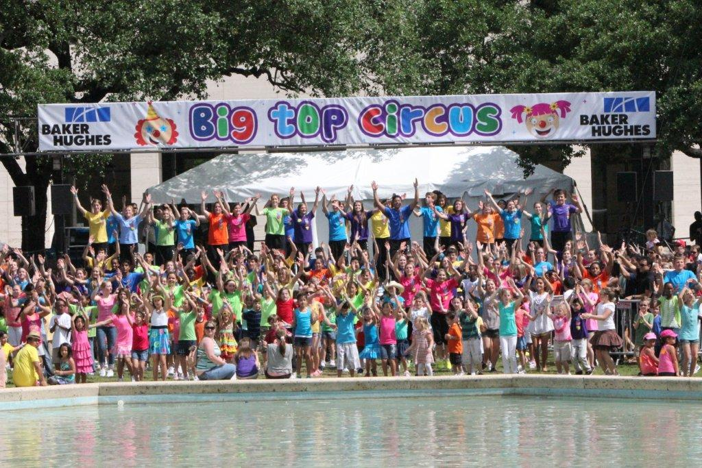 Houston Children's Festival Baker Hughes Big Top Stage