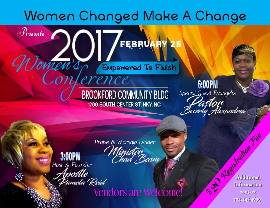 Women's Conference Tickets, Sat, Feb 25, 2017 at 1:00 PM ...