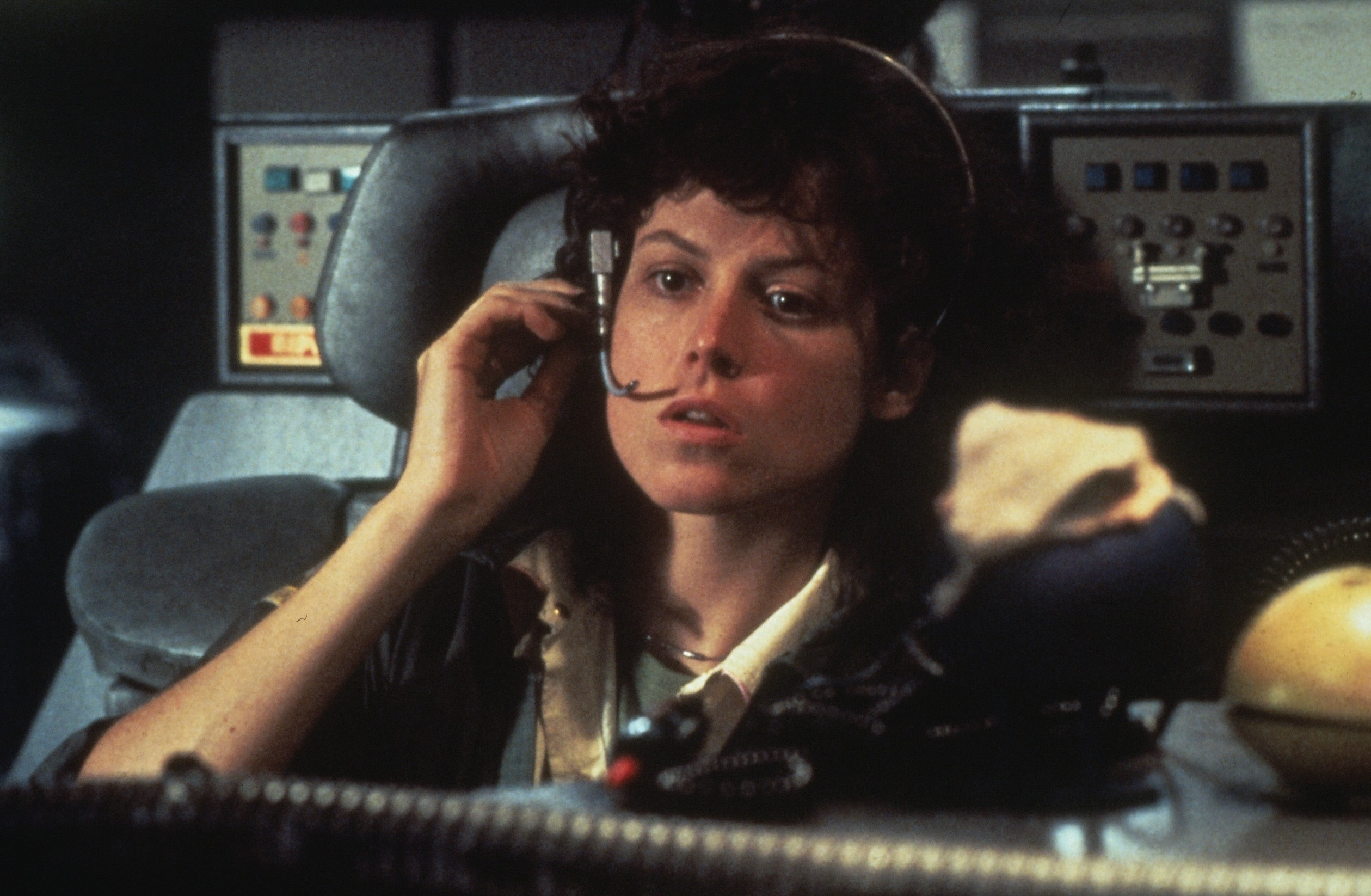 Sigourney Weaver as Ellen Ripley in Alien