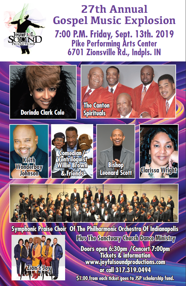 Flyer Gospel Explosion