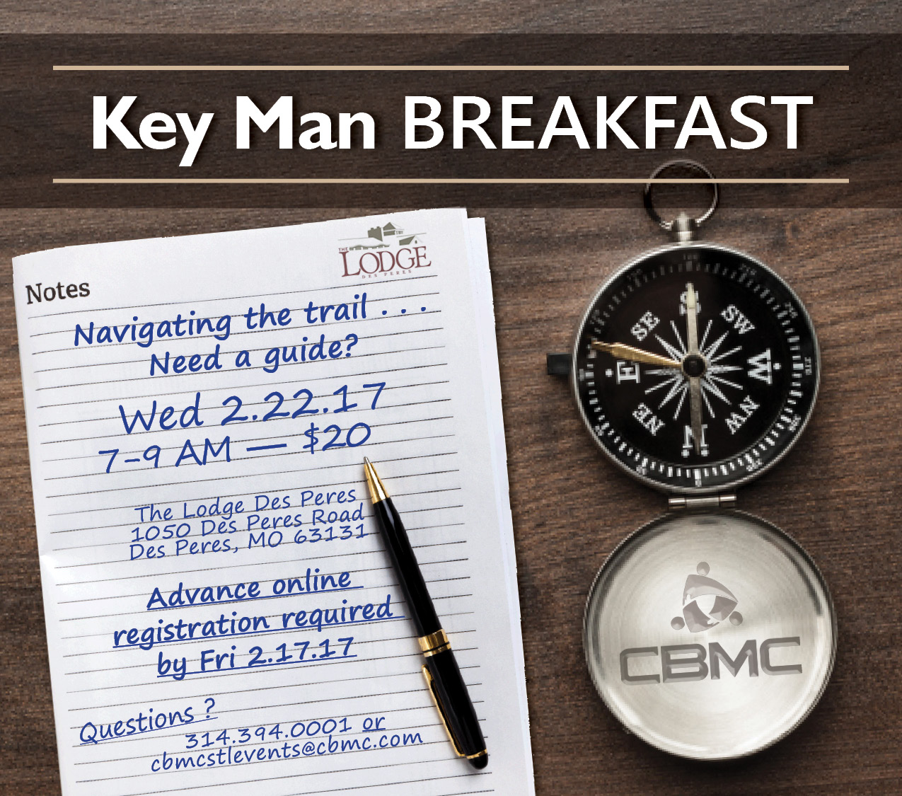 Key Man Breakfast