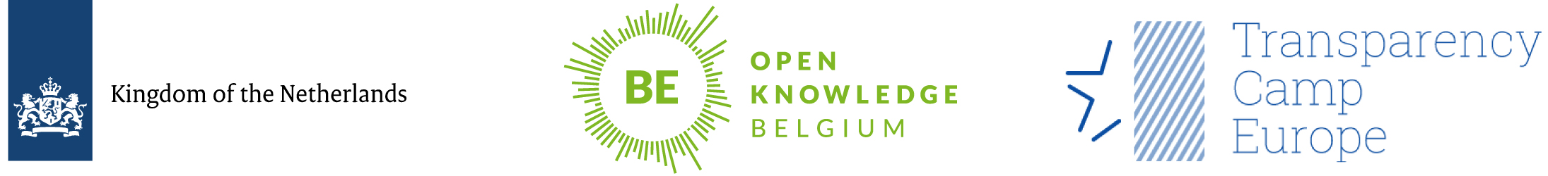 Organised by Ministry of Foreign Affairs of the Netherlands, Open Knowledge Belgium, TransparencyCamp Europe