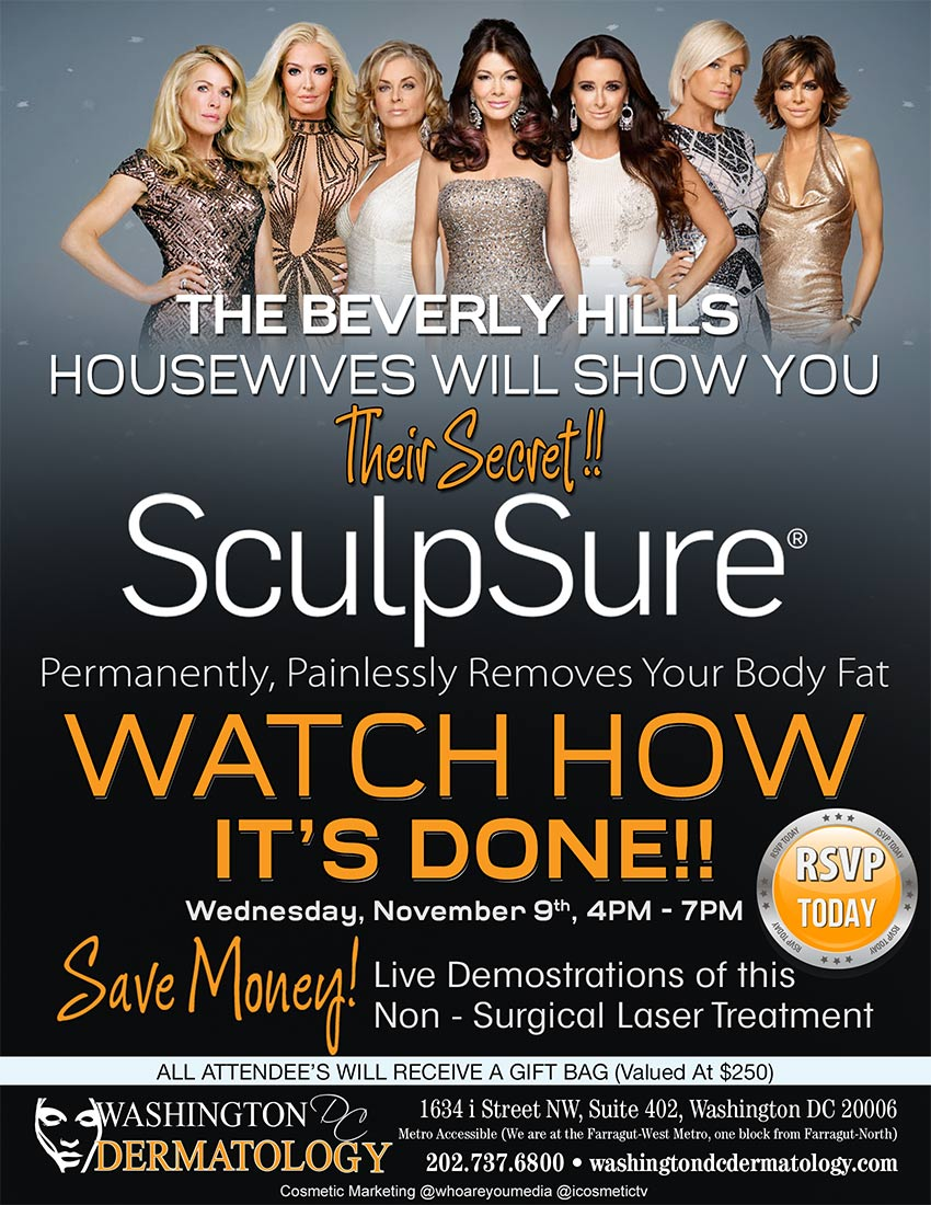 Beverly Hills Housewives - Sculpsure Event