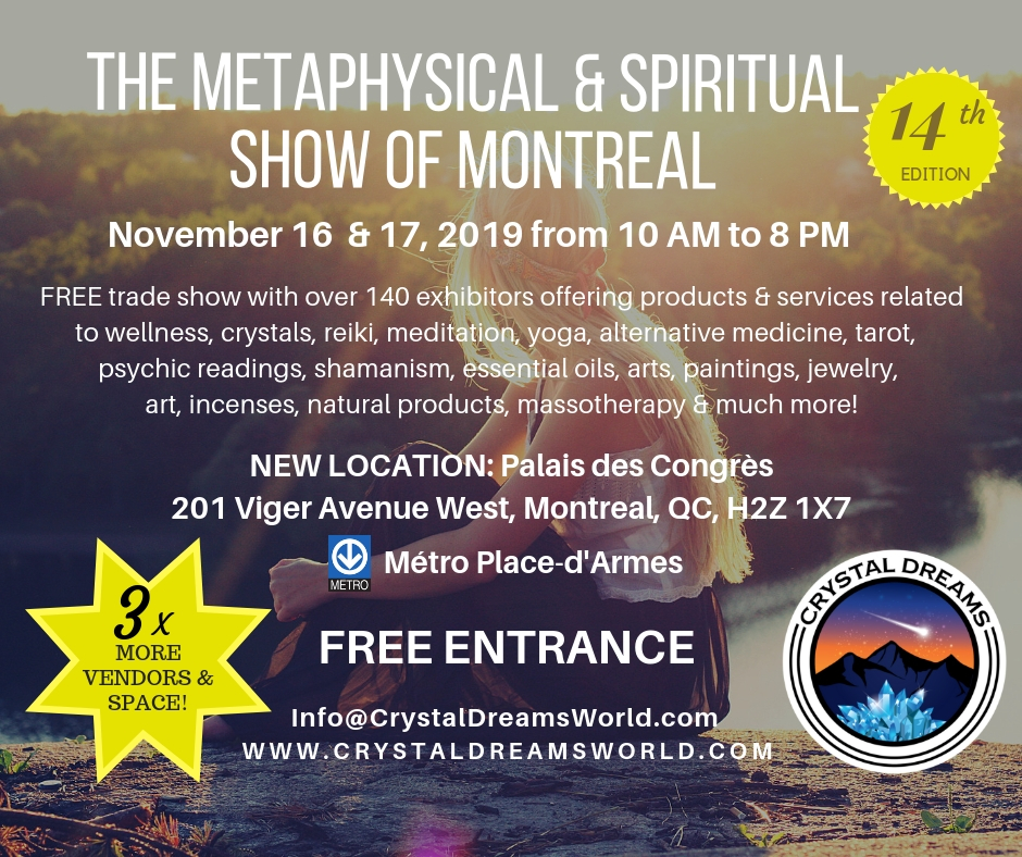 The Metaphysical & Spiritual Show of Montreal Tickets, Sat