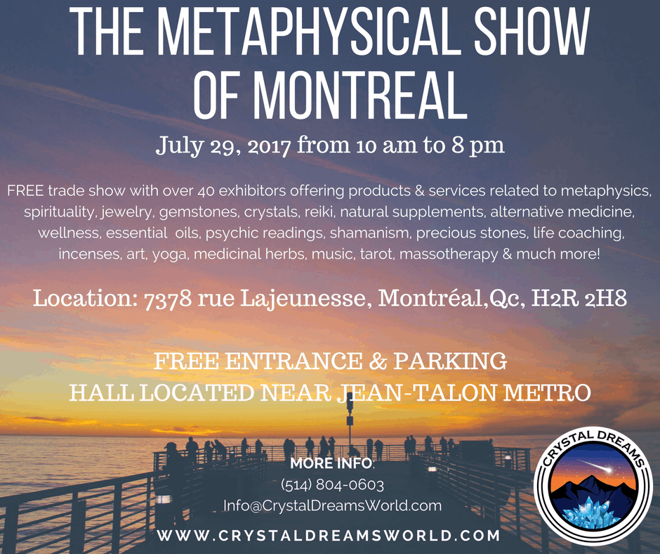 The Metaphysical Show of Montreal is one of the most awaited events of the year in Montreal