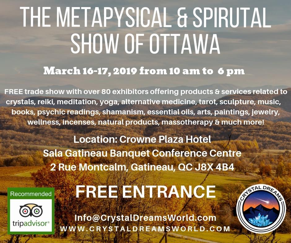 The Metaphysical & Spiritual show of Ottawa