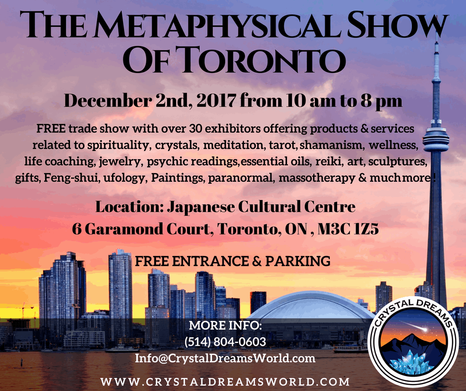 The Metaphysical & Spiritual Show of Toronto is one of the most awaited events of the year in Montreal