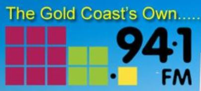 Logo 94.1FM Gold Coast Radio for PGE