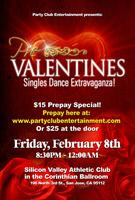 *Let's Celebrate At The Valentines Singles Dinner And Dance...